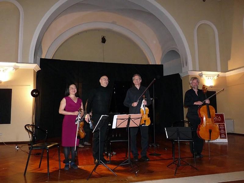 Concertisti della rassegna Musica a Villa Durio, edizioni passate, foto di Alfredo Di Pietro