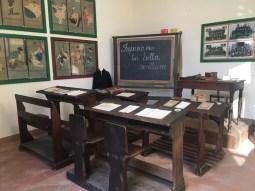 Museo Romagnano Sesia, aula scuola