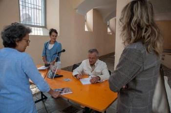 """Presentazione libro """"Il romanzo di Gaudenzio"""" foto di Marco Bovolenta"""