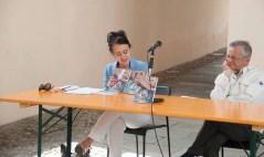 """Presentazione libro """"Il romanzo di Gaudenzio"""" , Piera Mazzone, nella foto di Marco Bovolenta"""