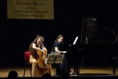 Erica Piccotti al violoncello e al pianoforte Monica Cattarossi