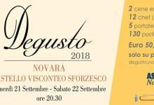 """Photo of 11^ edizione """"Degusto"""" 2018 a Novara"""