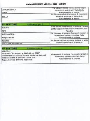 Programma ammassamento alpini Vercelli 2018 locandina