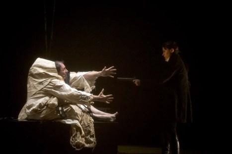 Creatura e Victor-Mary Shelley/Victor Frankenstein a Varallo Sesia