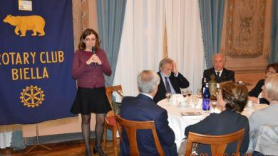 Photo of La scrittrice Marta Ottaviani incontra i Rotary Valsesiani e Biellesi