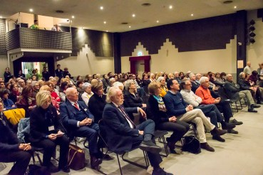 Pubblico serata 8 marzo a Quarona