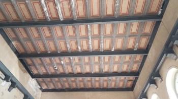 Museo dell'energia a Varallo Sesia , soffitto del salone