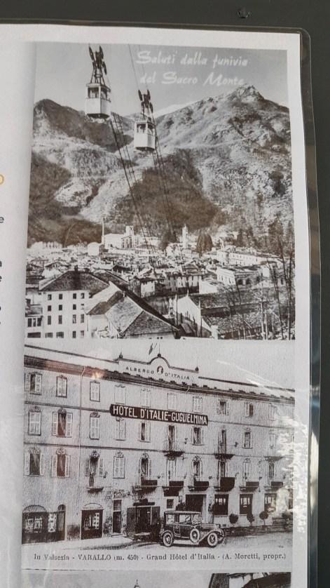 Museo dell'energia Varallo Sesia, vecchia cartolina