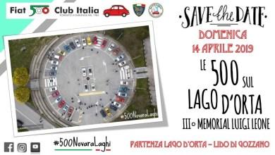 Photo of Lago d'Orta: raduno delle 500 e auto d'epoca