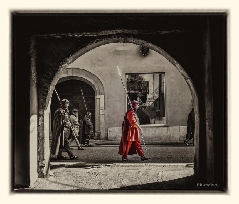 Foto di Ernesto Vivoli. Venerdì Santo Romagnano