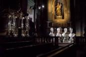 Luci candelieri reliquiari