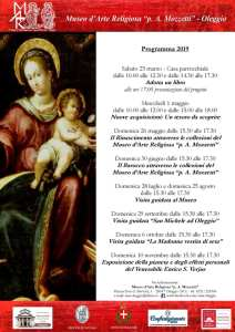Iniziative 2019 Museo Arte religiosa Oleggio