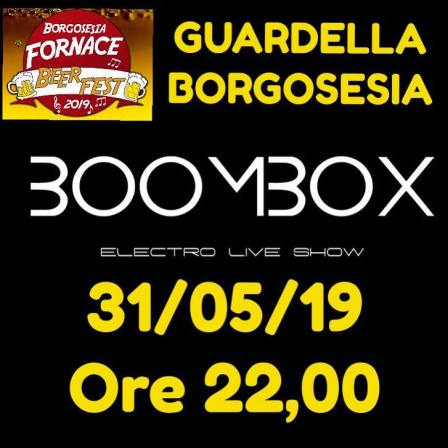 Boombox al Fornace beer fest 2019
