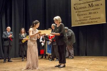 Daniela IW premia Asako