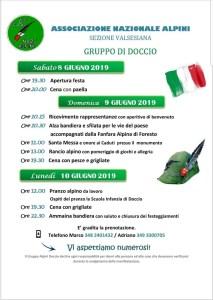 Festa Alpini Doccio 2019