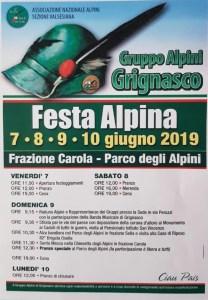 Festa Alpini Grignasco 2019