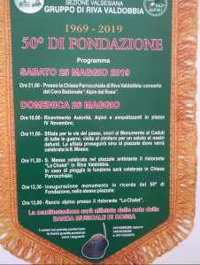 Festa Alpini Riva Valdobbia 2019