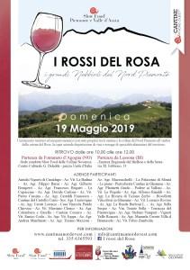I Rossi del Rosa 2019 locandina