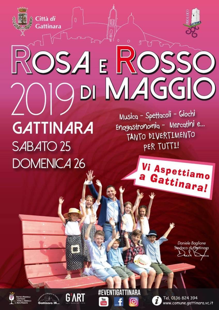 Gattinara: Rosa e Rosso di Maggio programma