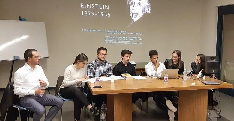 serata a Grignasco sulla relatività. credit Maurizio Merlo