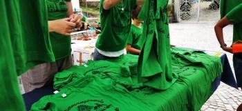 Distribuzione magliette Sentiermangiando 2019 credit Eventi Valsesia e dintorni