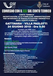 Convegno GSE a Gattinara