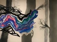 Marta Nijhuis, Weaving Shadows, Scultura sospesa realizzata con penna 3D, 2019_1