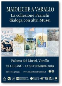 Mostra Maioliche Varallo locandina