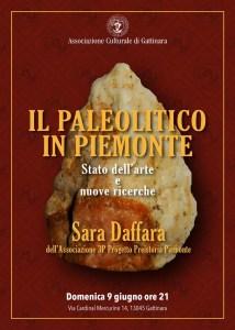 PALEOLITICO locandina incontro a Gattinara