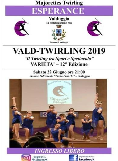 Valduggia Twirling giugno 2019