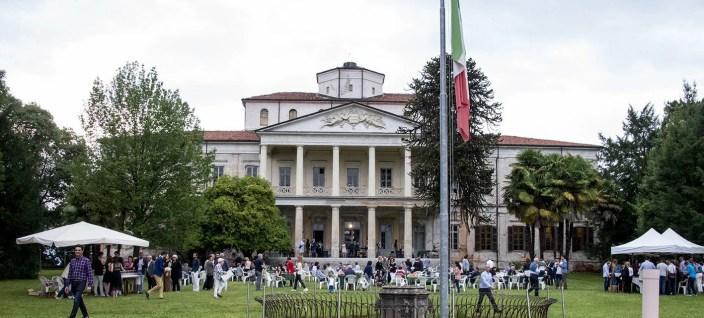 Panoramica di Villa Caccia