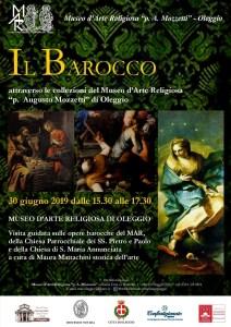 locandina mostra opere Barocco Oleggio