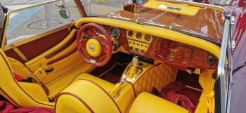 Interni auto Morgan