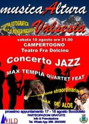 Musicaltura concerto Jazz Campertogno 2019