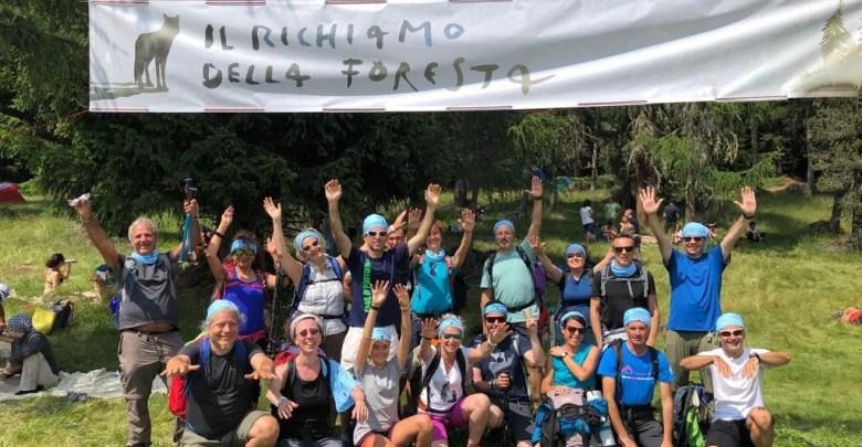 Trekking del viandante 2019 gruppo partecipanti