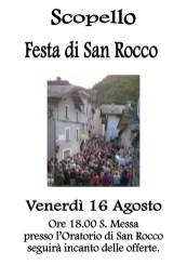 Festa San Rocco