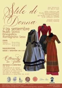 Locandina Stile di donna Romagnano Sesia 2019