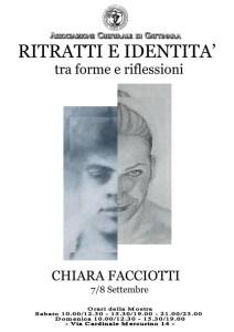 Locandina mostra Ritratti e Identità Gattinara