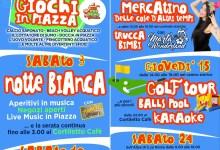 Programma eventi agosto 2019 Varallo Sesia locandina