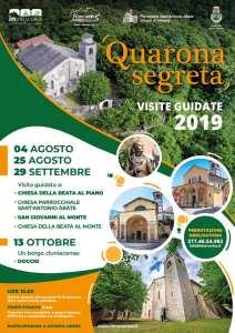 Quarona segreta, visite guidate 2019