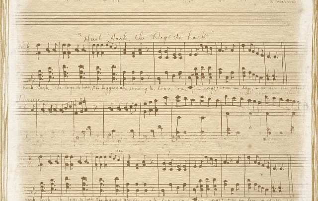 note musicali antiche ph. pixabay