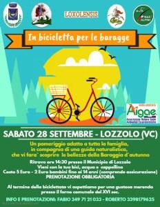 Biciclettata 28 settembre Lozzolo Volantino