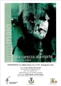 Locandina mostra Enzo Maio
