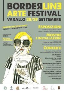 Locandina prima edizione Borderline Varallo Sesia