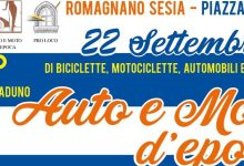 Photo of Romagnano Sesia: raduno auto e moto d'epoca