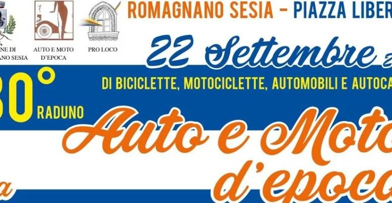 Raduno auto e moto d'epoca Romagnano 2019