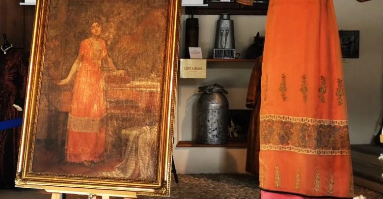 Stile di donna la mostra abito della fam. Dionisotti credit eventivalsesia