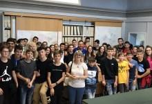Photo of Gattinara: studenti del Mercurino in visita al Comune