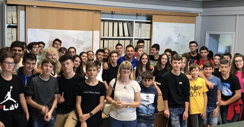 Studenti in visita al Comune di Gattinara