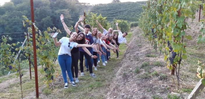 foto di gruppo progetto Il mondo a Gattinara 1